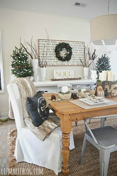 Rustic Glam Christmas Dcor Trends