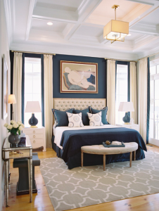 Blue Statement Bedroom